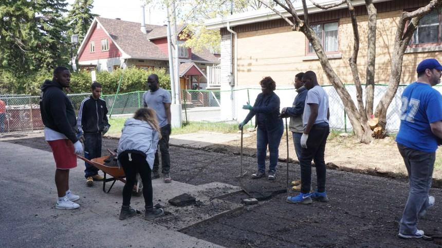 Lancement du projet Sous les pavés pour déminéraliser l'espace public