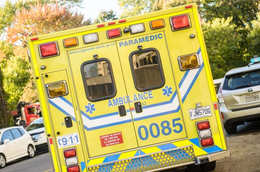 Collision frontale entre deux véhicules près de Québec