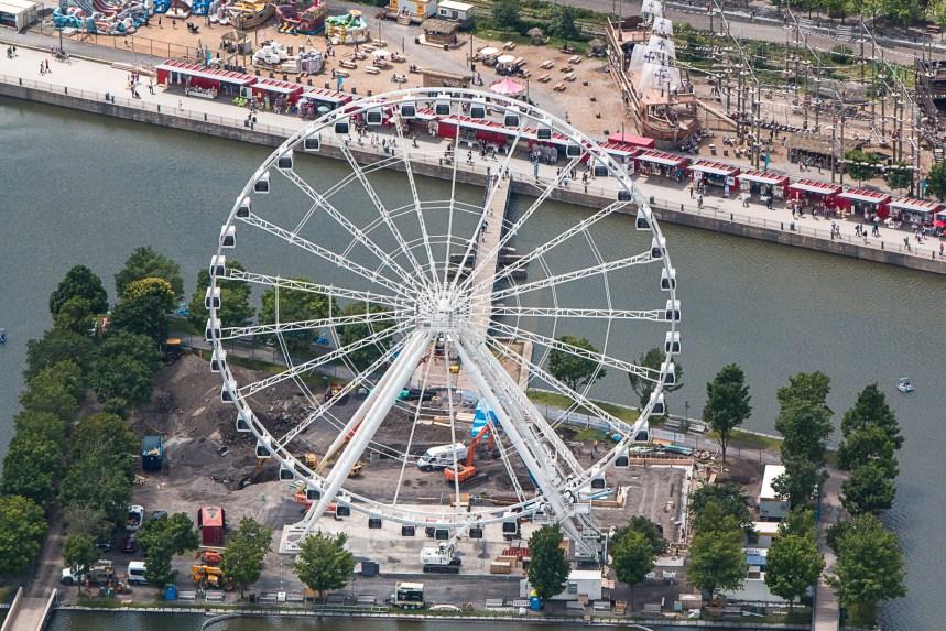 L'ouverture de la grande roue du Vieux-Port retardée