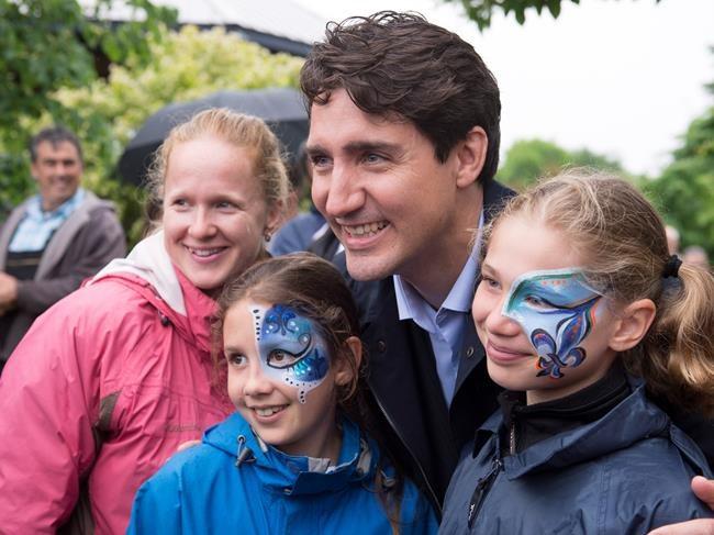 Trudeau souligne la fête nationale à Québec
