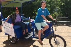 Bientôt du vélo-taxi pour aînés dans RDP et PAT