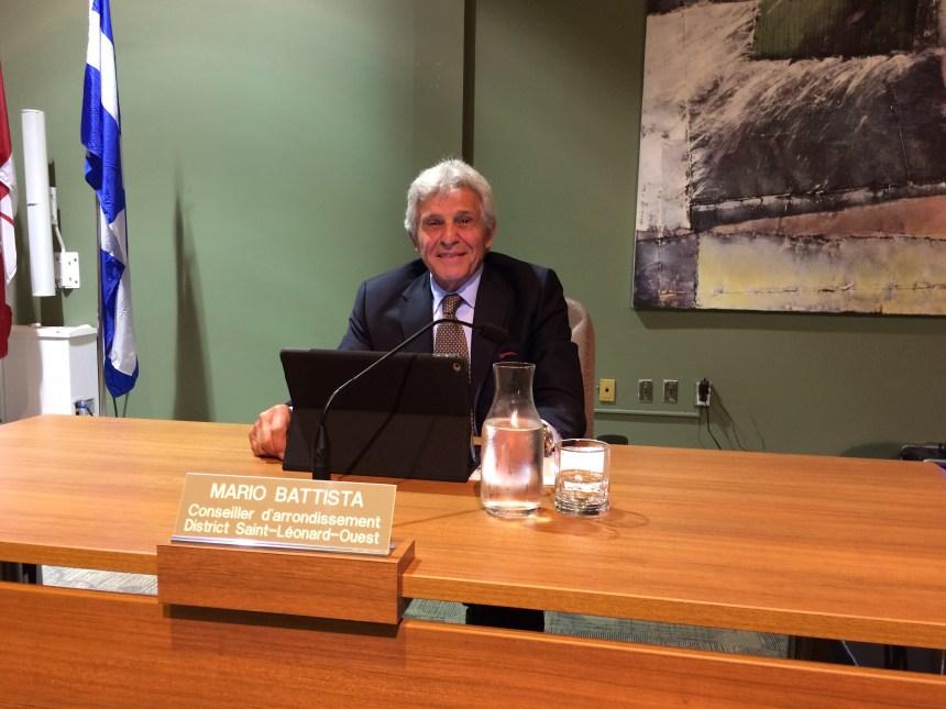 Mario Battista, nouveau maire suppléant