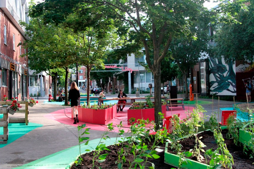 La place publique rue Roy Est restera piétonne toute l'année