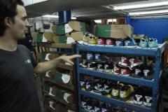 Des «pantoufles de course» fabriquées à Saint-Léonard