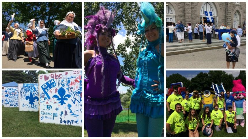 [En images] Une Fête nationale colorée dans l'est de Montréal