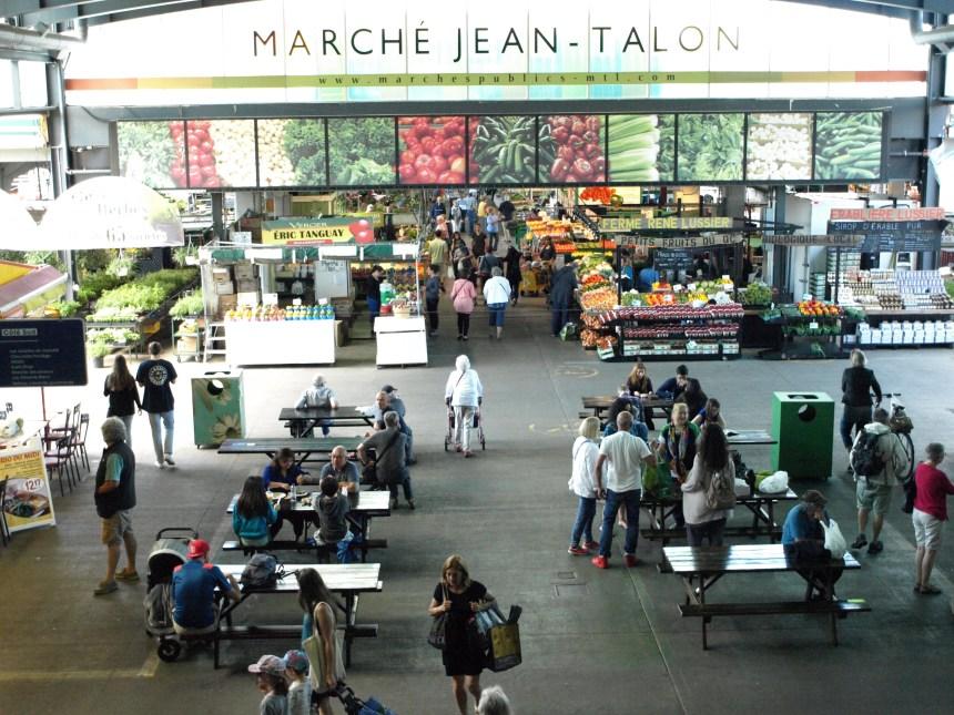 Contrer le gaspillage alimentaire au marché Jean-Talon