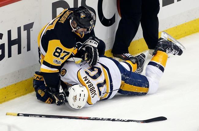 Crosby: deux gestes qui jettent de l'ombre