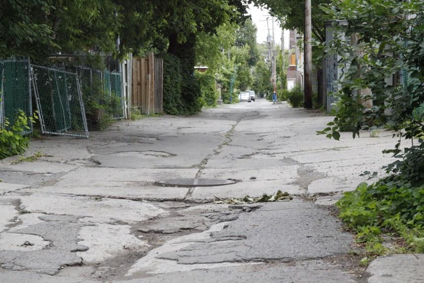 Des citoyens de Rosemont se mobilisent pour obtenir la réfection de leur ruelle verte