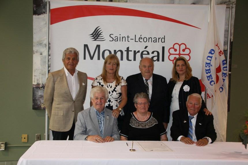 Signature d'un pacte d'amitié entre un organisme français et léonardois