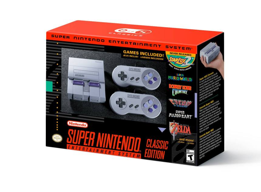 Le Super Nintendo est de retour à l'automne