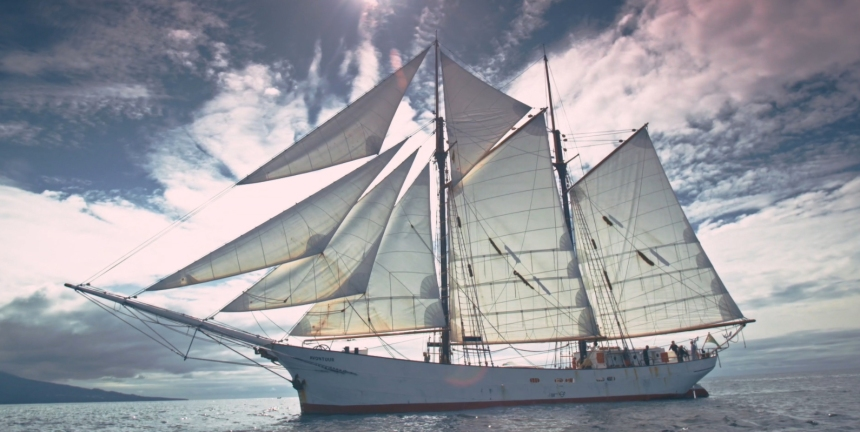 Une route maritime à l'essai