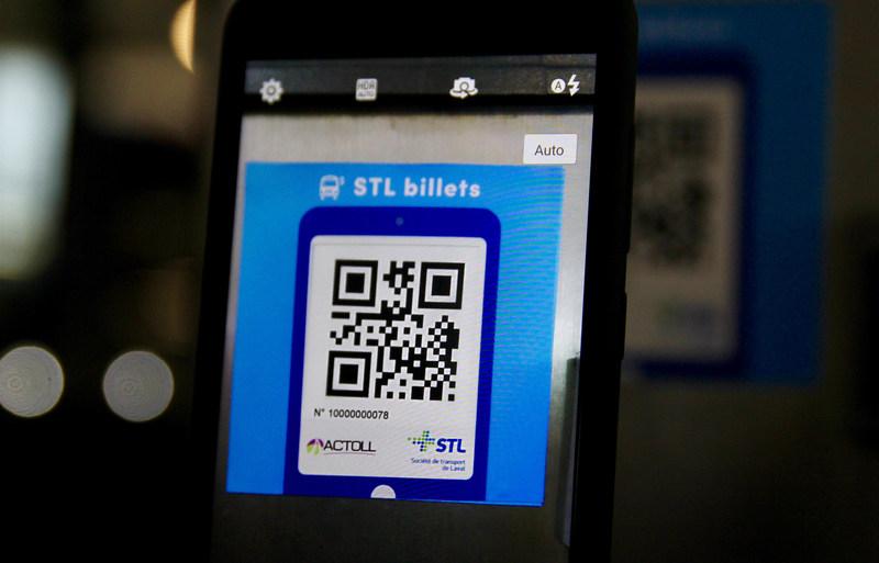 La STL teste le paiement sur téléphone intelligent