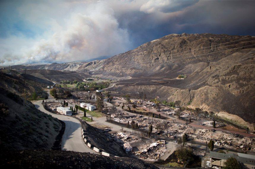 Feux en Colombie-Britannique: nouvelles évacuations attendues