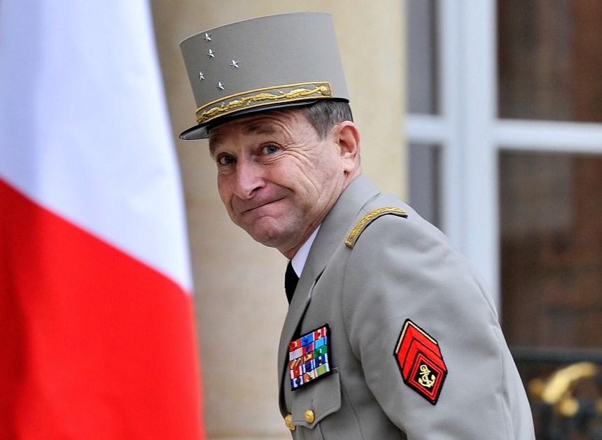 Le chef d'état-major français démissionne