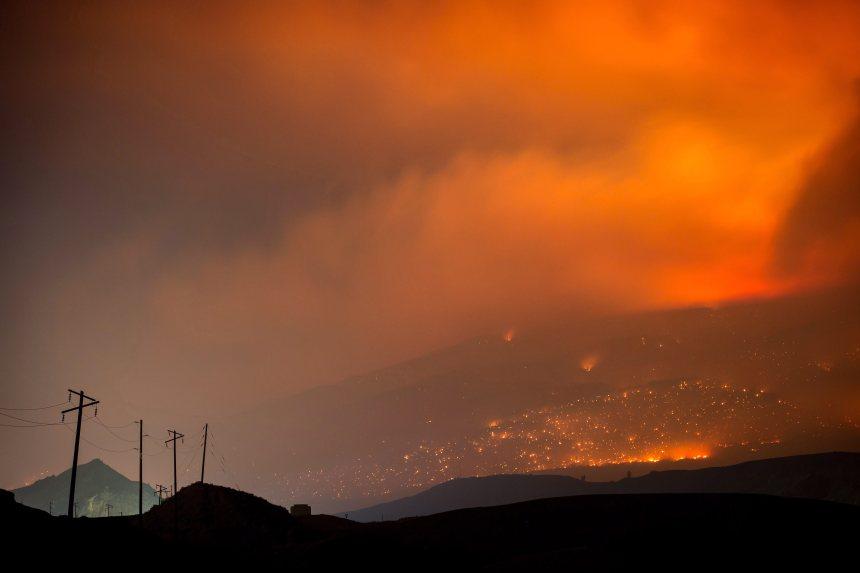 Colombie-Britannique: Un Québécois s'engage pour combattre les flammes