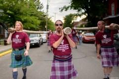 Les Jeux écossais de Montréal célébrés à Verdun