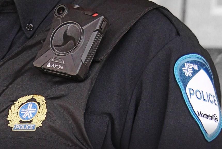 Les Montréalais favorables aux caméras corporelles des policiers, selon un sondage