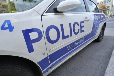 Un policier du SPVM cause un accident