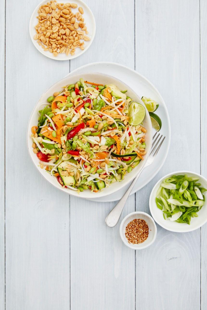 Recette de salade asiatique