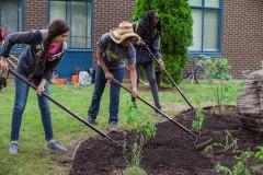 Les jeunes de Saint-Laurent s'impliquent pour l'environnement