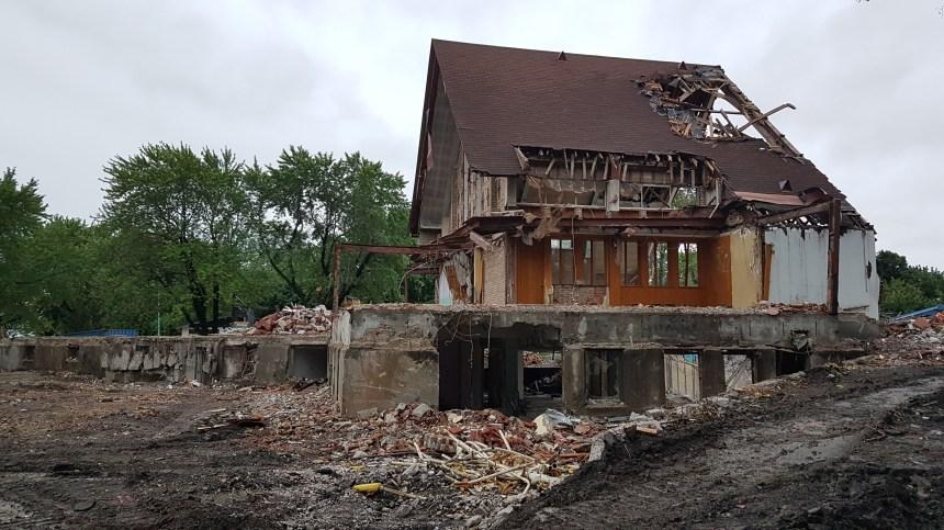 L'église St-Octave démolie