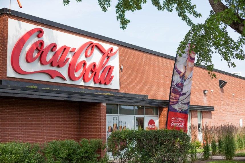 Projet de 30 M$ à l'usine Coca-Cola à Lachine