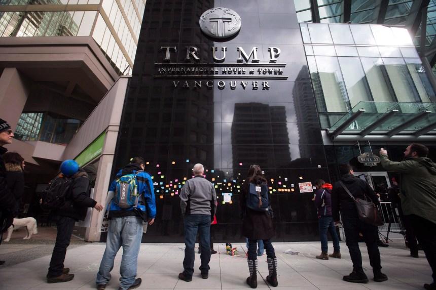 Brèche de sécurité dans des hôtels Trump