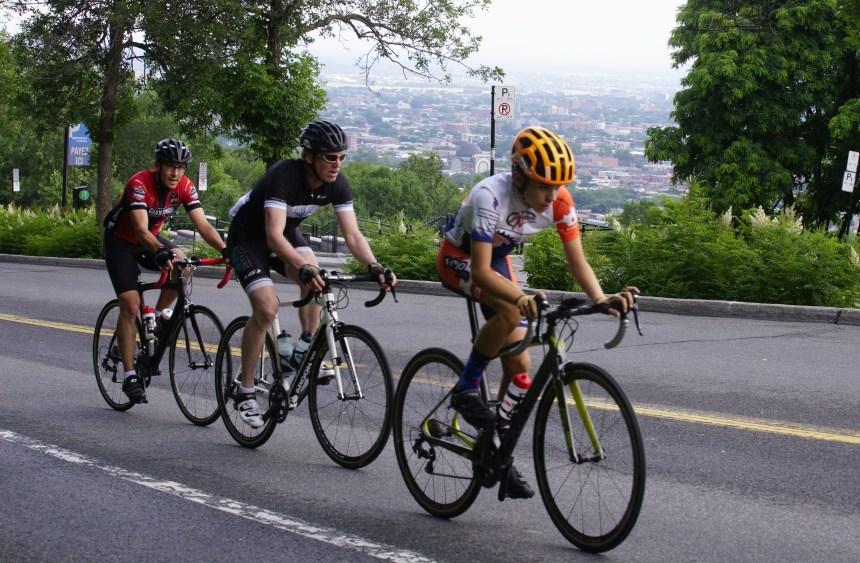 Le mont Royal offert aux sportifs pendant quelques heures