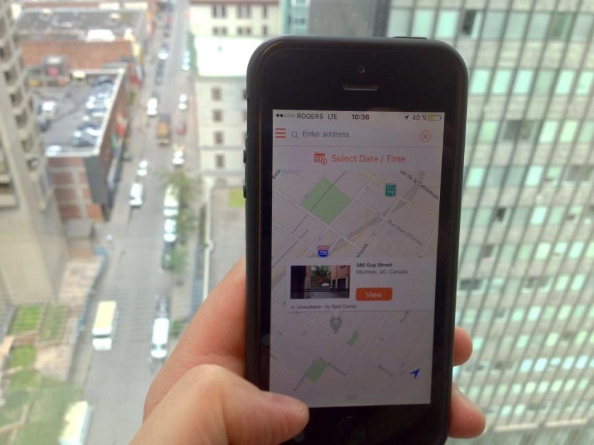 Des commerçants se tournent vers la technologie pour augmenter l'offre de stationnement