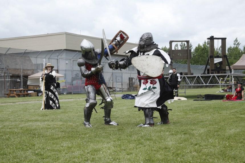 Une trêve médiévale pour les 150 jeunes de la Cité des Prairies