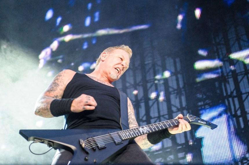 Un concert exclusif de Metallica au Ciné-Parc Saint-Eustache