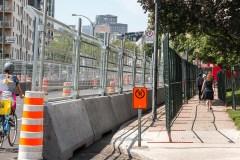 Formule E: la grogne des résidants du quartier s'amplifie