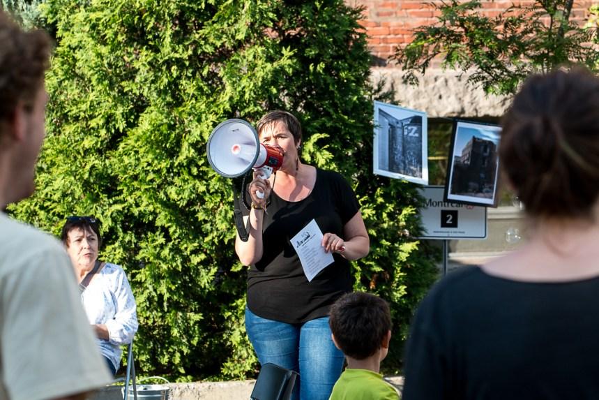 Rassemblement pour un projet communautaire à la Canada Malting