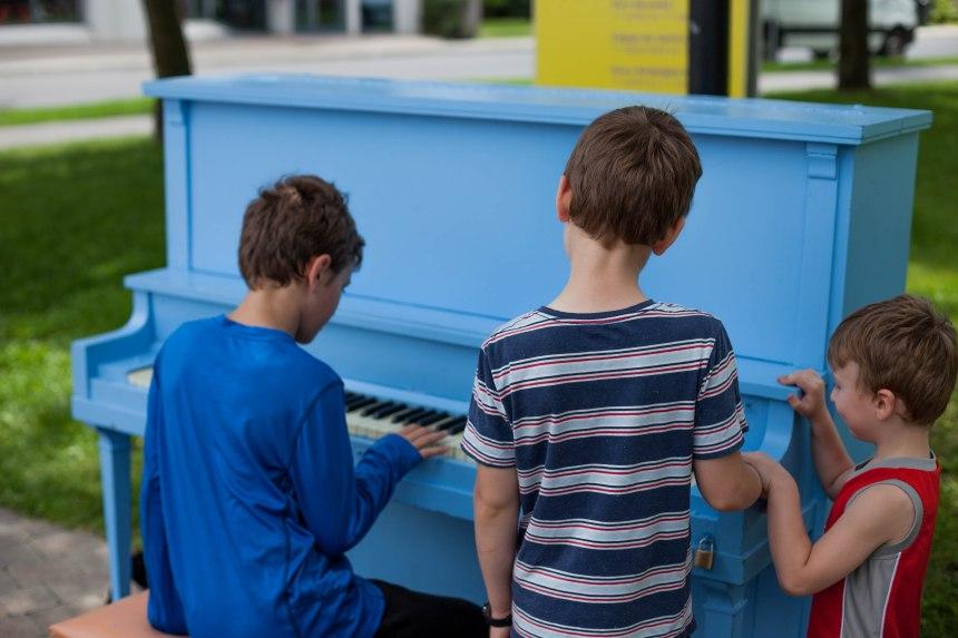 Musique publique à Saint-Laurent