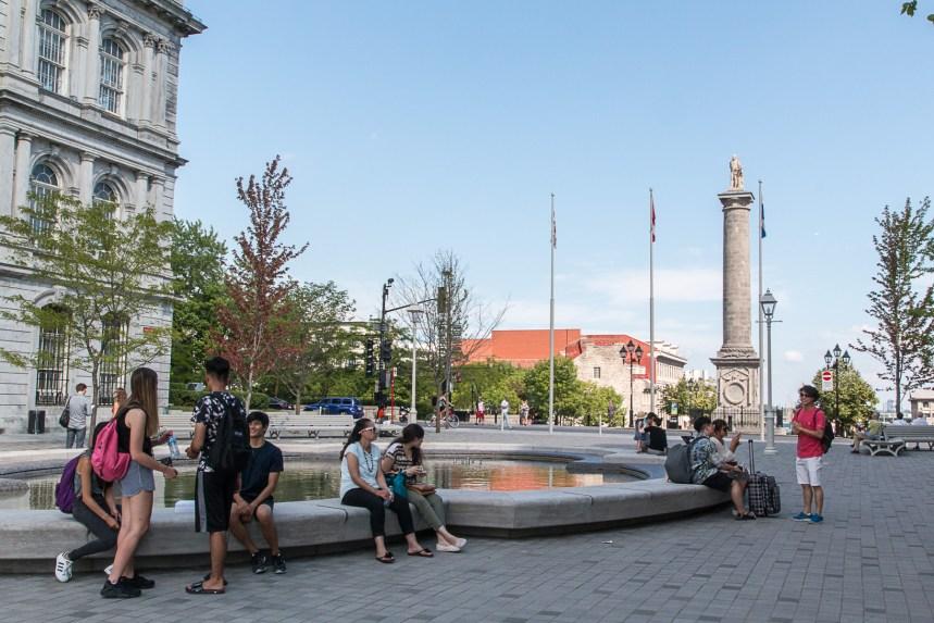 Place Vauquelin: la nouvelle fontaine hors d'usage