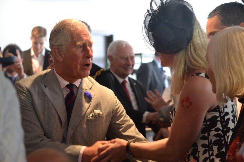 Le Centre national des arts accueille le prince de Galles