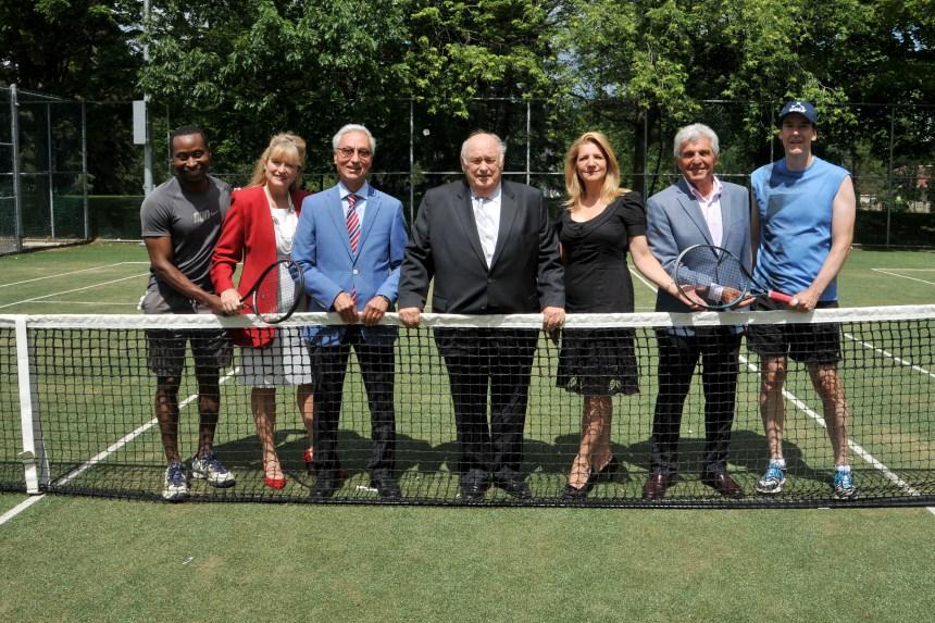 De nouveaux aménagements aux terrains de tennis Wilfrid-Bastien