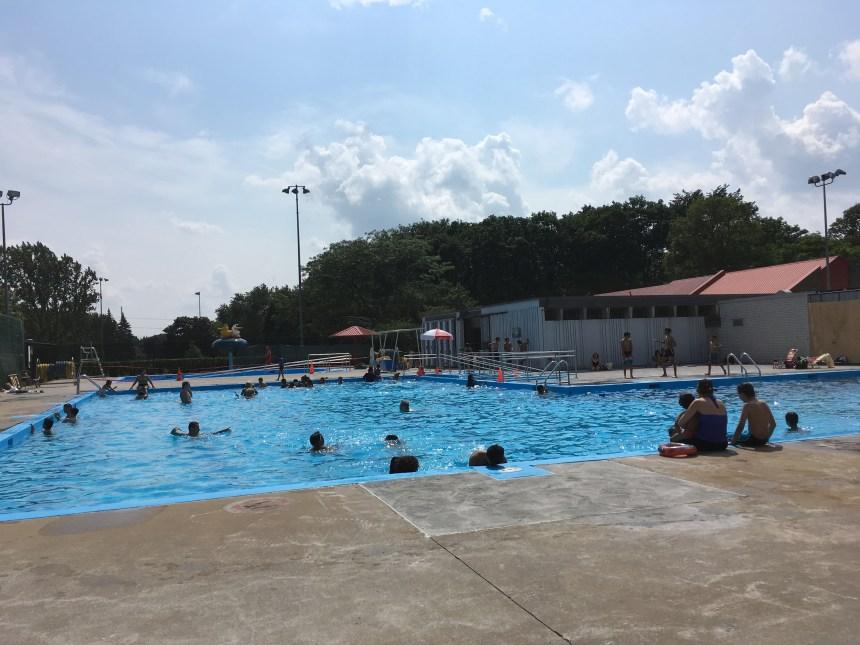 La piscine Pie-XII à nouveau ouverte