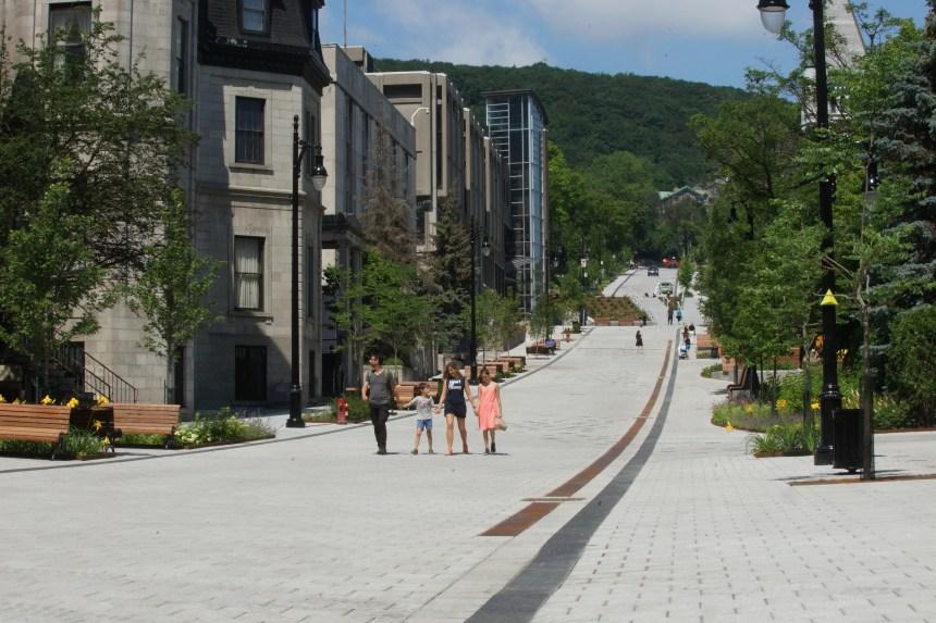 La Ville défend sa promenade Fleuve-Montagne