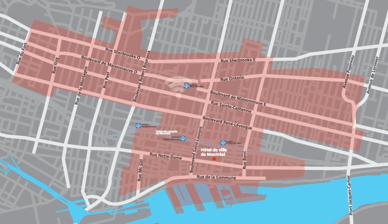La Ville étend son réseau public wi-fi gratuit