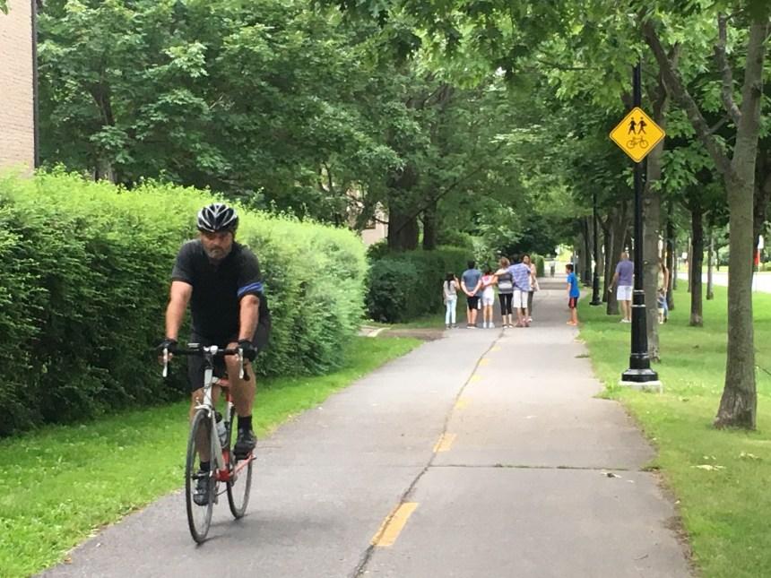 Se perdre dans les rues de Montréal à vélo