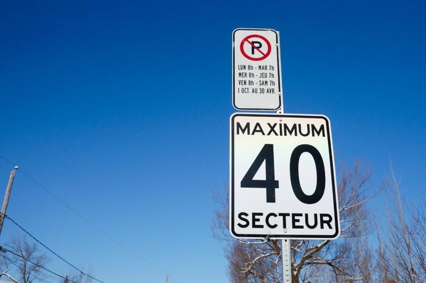 Rosemont–La Petite-Patrie diminuera la vitesse à 40 km/h sur ses grandes artères