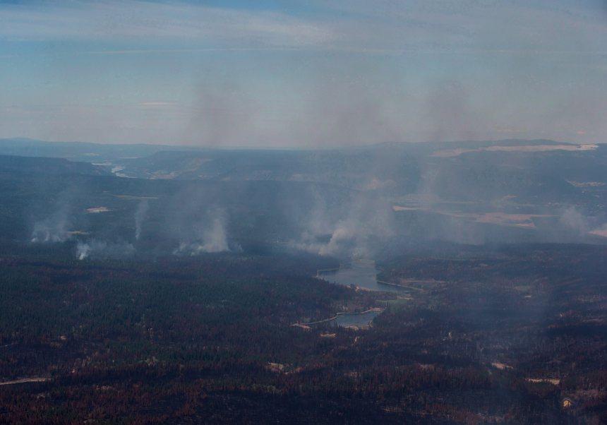 Incendies de forêt en Colombie-Britannique: l'arrière-pays partiellement interdit d'accès
