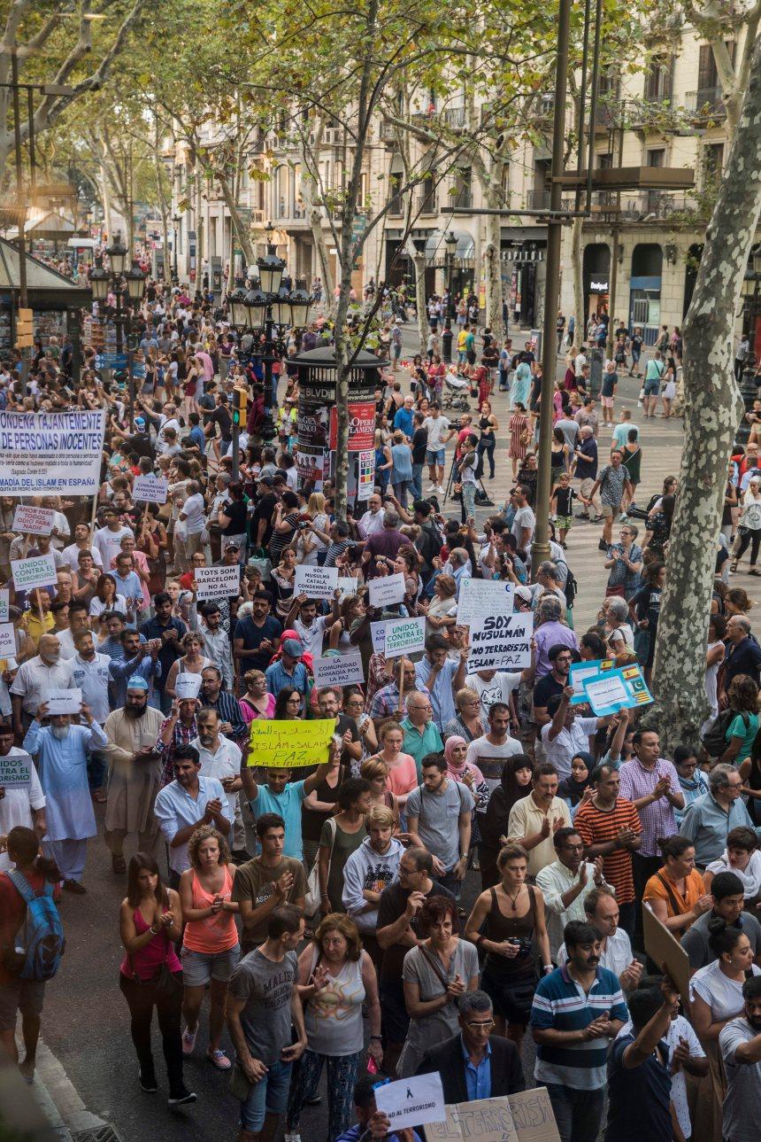 Barcelone: vaincre la peur