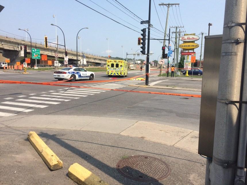 Une intersection dangereuse à revoir à Lachine