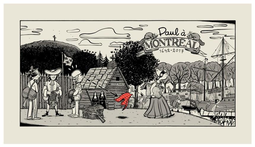375e: La première case de Paul à Montréal dévoilée