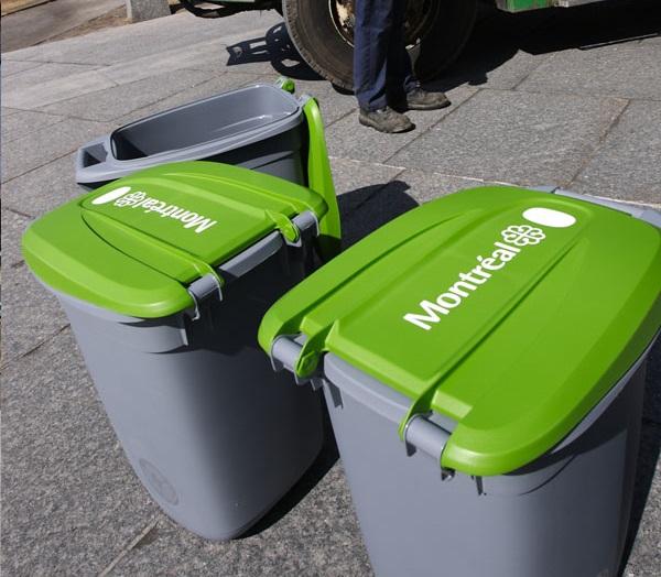 Montréal veut revoir sa façon de gérer le bac vert