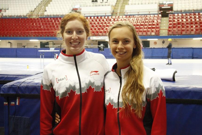 Le rêve olympique de deux patineuses de Mercier-Ouest