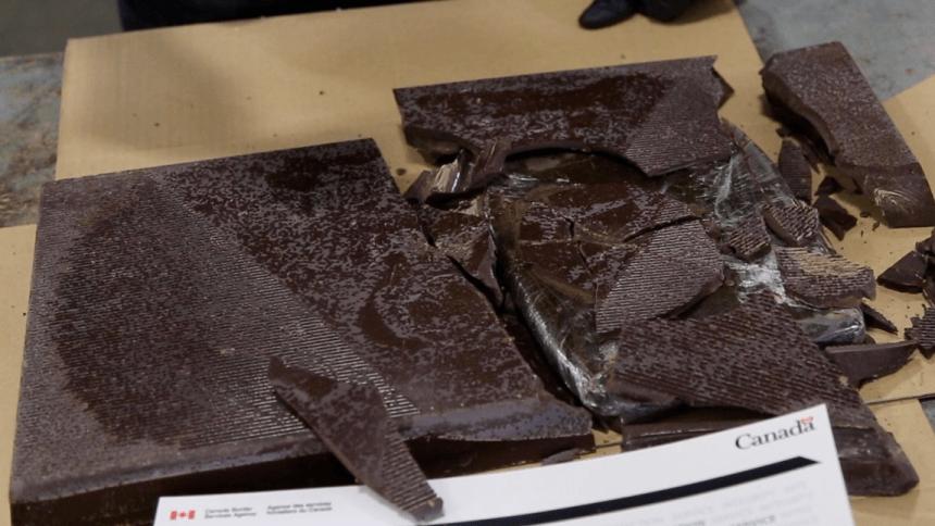 200 kilos de «hasch» dans des barres de chocolat