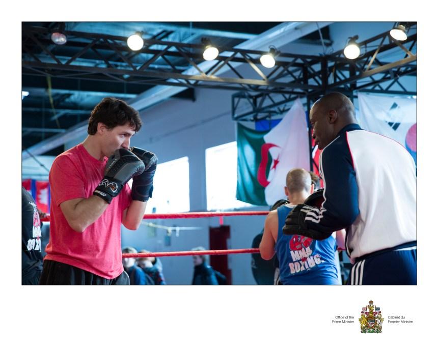 Mélanie Joly et Justin Trudeau boxeront pour la cause